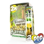 papel blunt wrap champagne fumar