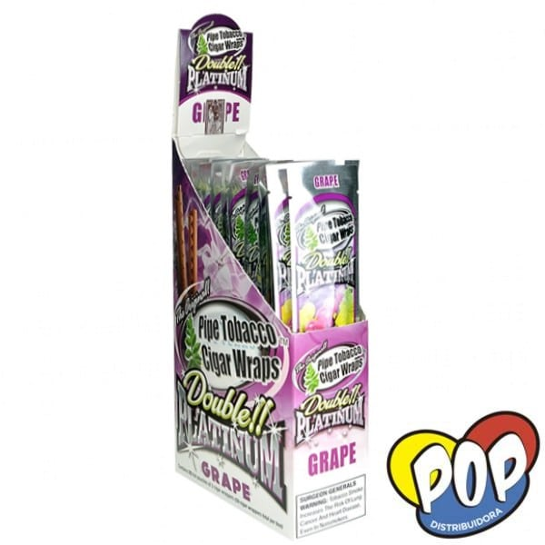 papel blunt wrap grape fumar