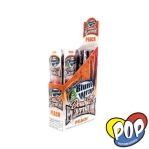papel blunt wrap peach fumar