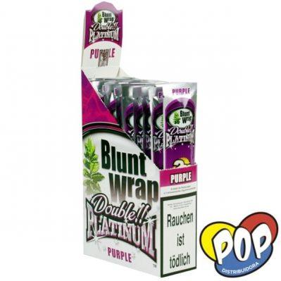 papel blunt wrap purple fumar