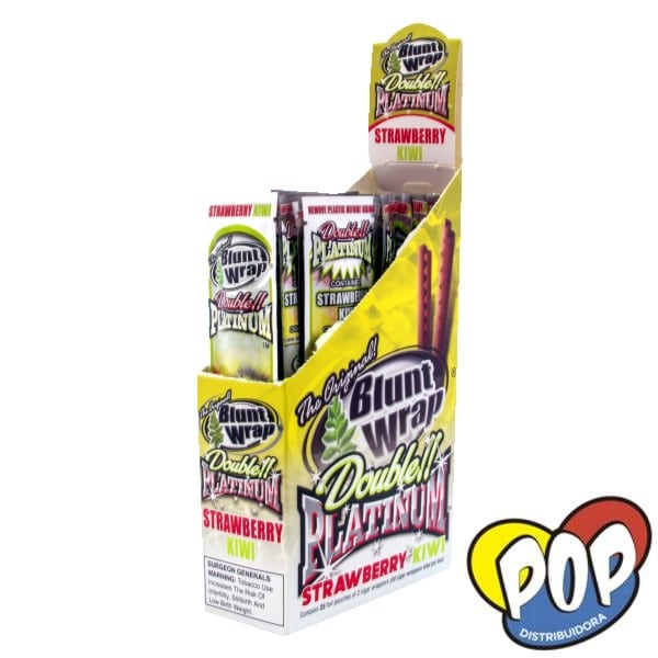 papel blunt wrap strawberry kiwi fumar