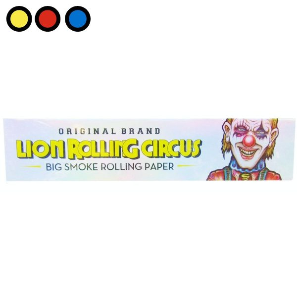 papel lion rolling circus king size precio mayorista