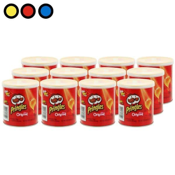 pringles papas fritas original 40gr venta por mayor