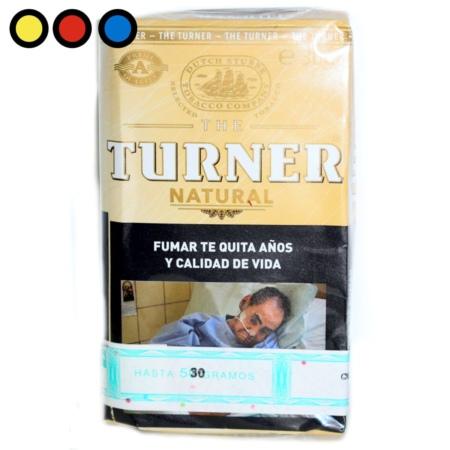 turner tabaco natural pure precios