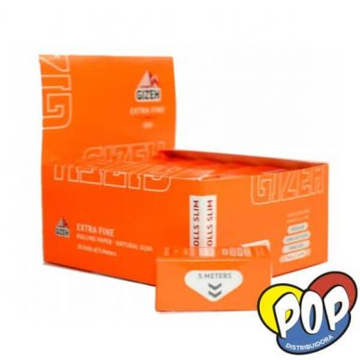 gizeh papel rolls slim extra fine precios
