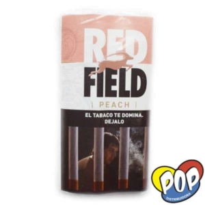 red field tabaco durazno fumar