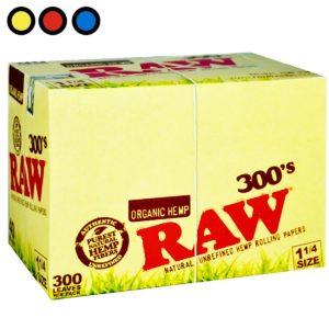 papel raw organico 300