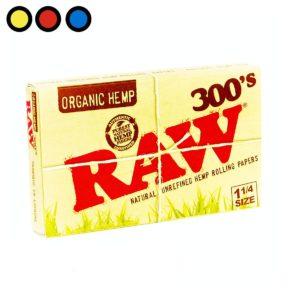 papel raw organico 300 venta grow shop