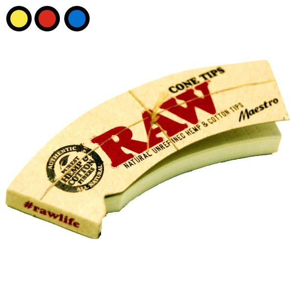raw tips cones carton maestro precio