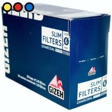 filtros gizeh slim carbon precio online
