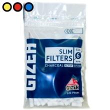 filtros gizeh slim carbon venta mayorista