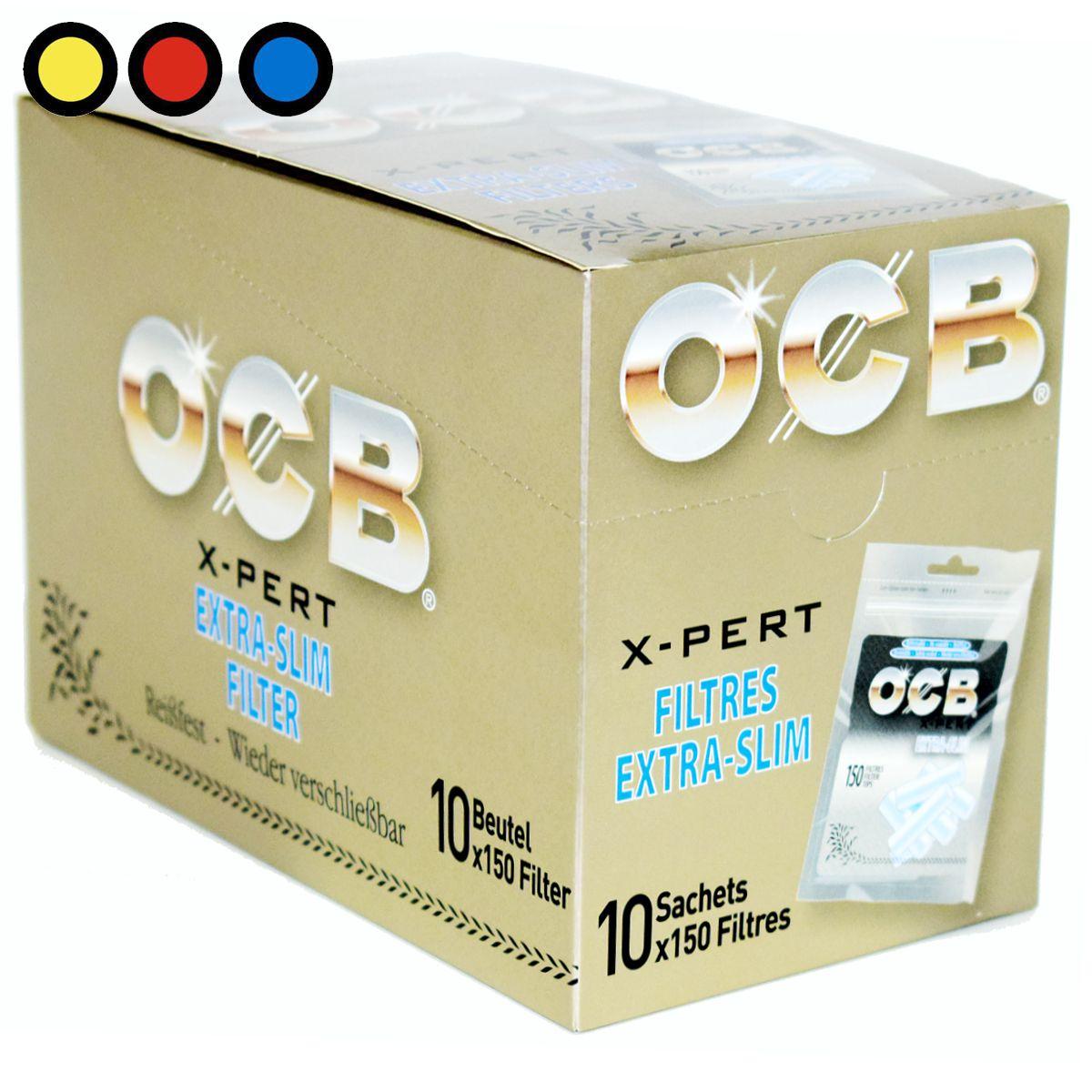 filtros ocb extra slim precio mayorista