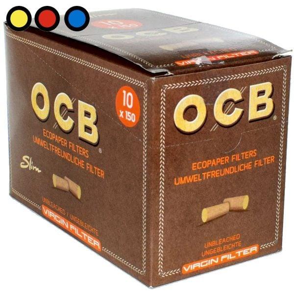 ocb filtros no blanqueados cigarrillos venta