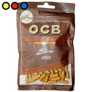 ocb filtros slim no blanqueador precio tabaqueria