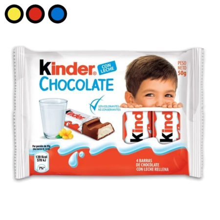chocolate kinder barra venta online