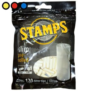 filtros stamps slim pre rolled tabaco
