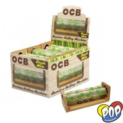 ocb maquina bamboo 78mm precios grow shop