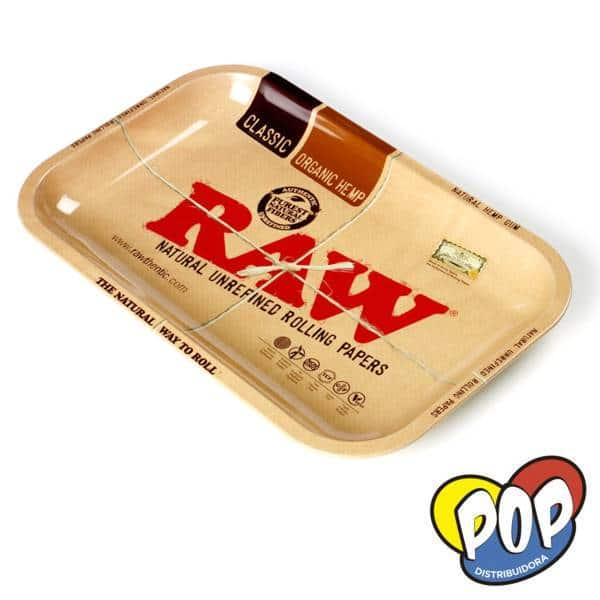 raw bandeja metalica