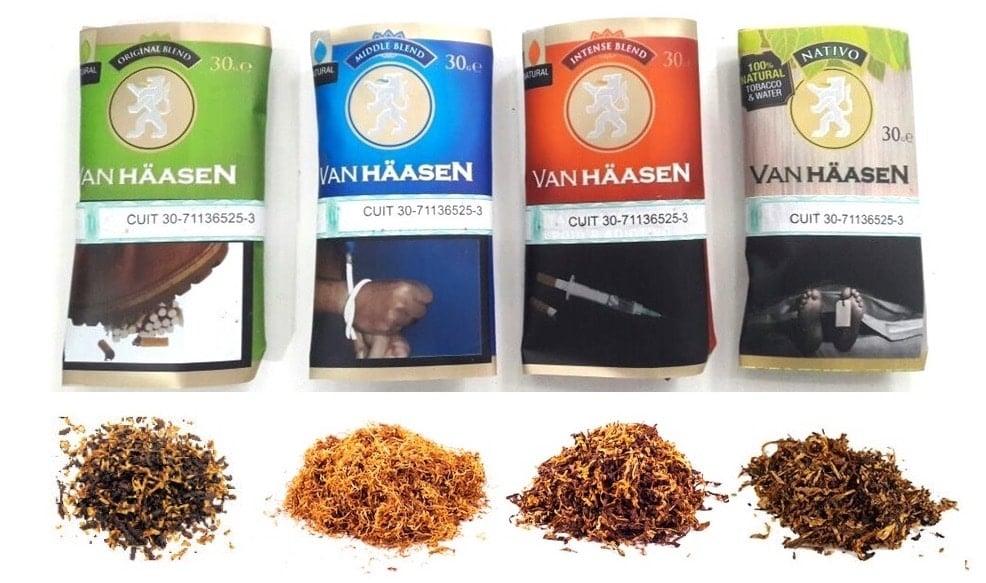 Tabaco Van Hassen por mayor