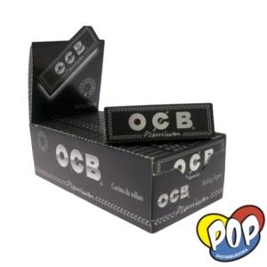 ocb papel negro premium 70mm precio por mayor