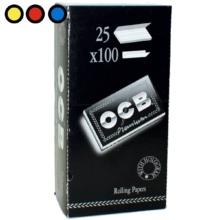 papel ocb premium negro doble librito distribuidor