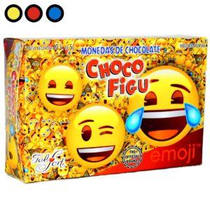 chocolate felfort moneditas emoji mayorista precio