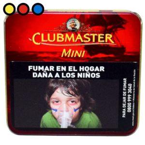 cigarro clubmaster mini vainilla fumador