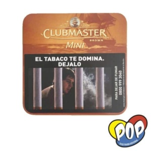 clubmaster mini chocolate cigarro 20u