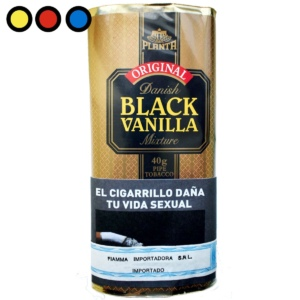 tabaco danish black vainilla pipa precio online