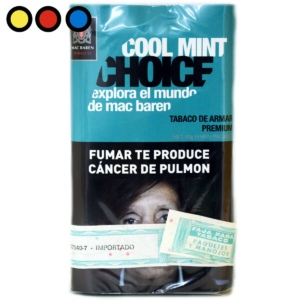 tabaco mac baren cool mint venta por mayor