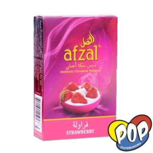 afzal strawberry tabaco narguile
