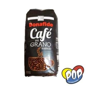 bonafide cafe en grano negro