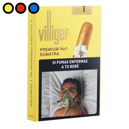 cigarro villiger premium sumatra nro 1 venta