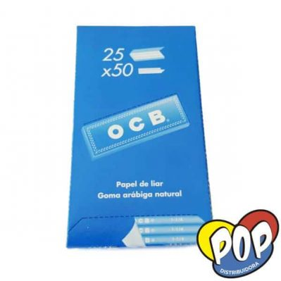 ocb papel blue 1 14 25u