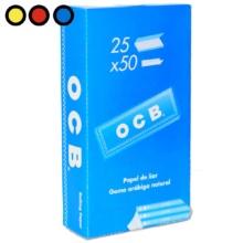 papel ocb blue 1 1/4 precio