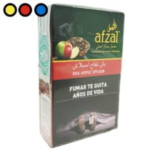 tabaco afzal narguile pan apple splash venta