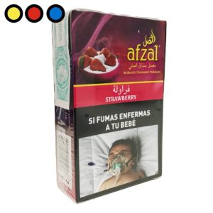 tabaco afzal narguile strawberry oferta