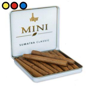cigarros villiger mini sumatra fumador