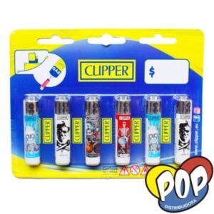 clipper encendedor mini dibujos precios