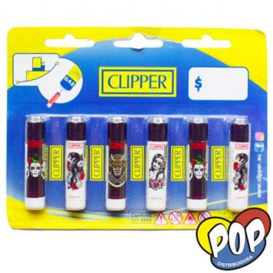 clipper encendedor mini tattoo 6u