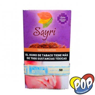 sayri tabaco organico 50gr