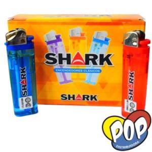 shark classic encendedor transparente 15u