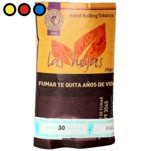 tabaco las hojas uva de 30gr