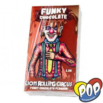 lion rolling circus papel funky chocolate precios