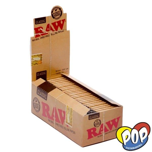 raw papel classic 70mm fumador
