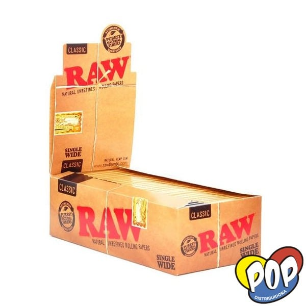 raw papel doble classic cigarrillos