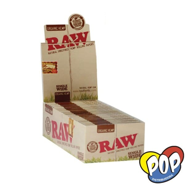 raw papel doble small organic fumar