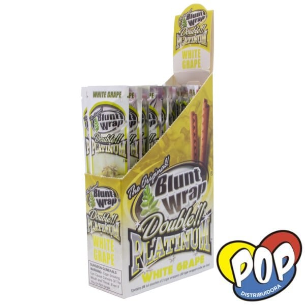 blunt wrap white grape para armar cigarrillos