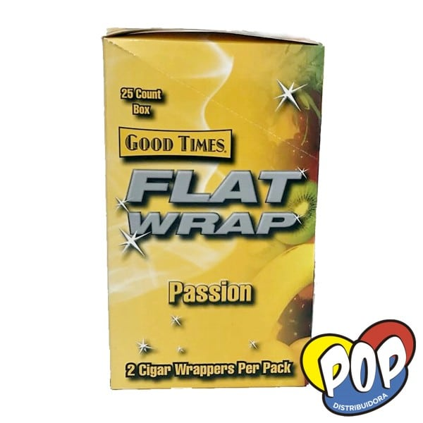 good times flat wrap passion fruit fumar
