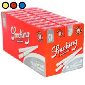 filtros smoking ultra slim size pre cut